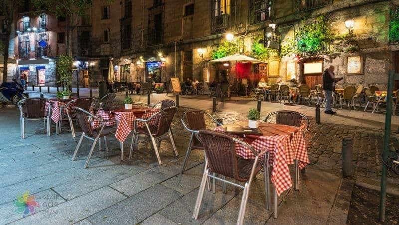 Madrid yemek rehberi blog