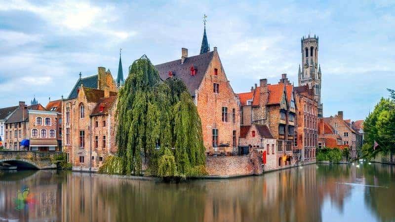 Brüksel Brugge ulaşım gezi