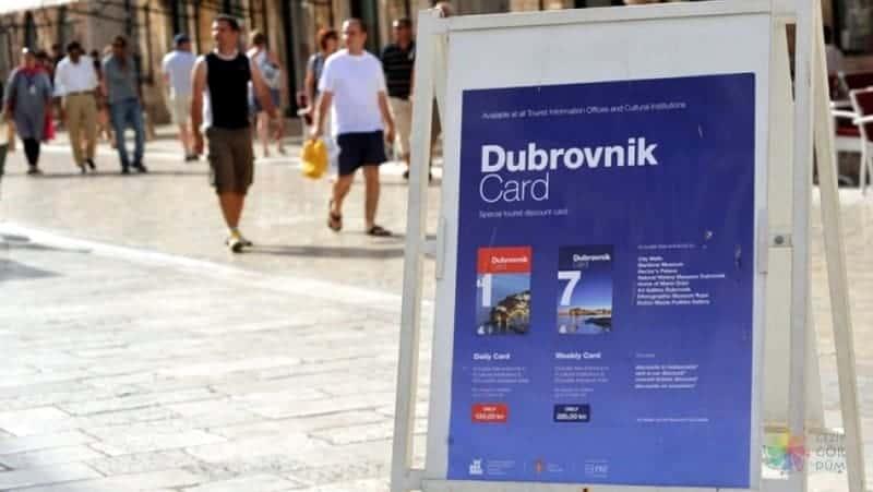 Dubrovnik gezi notları Dubrovnik card