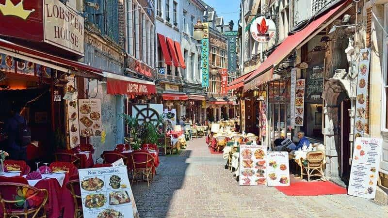 Brüksel gezi rehberi Brüksel'de yeme içme