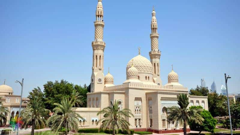 Places to visit in Dubai Jumeirah Mosque