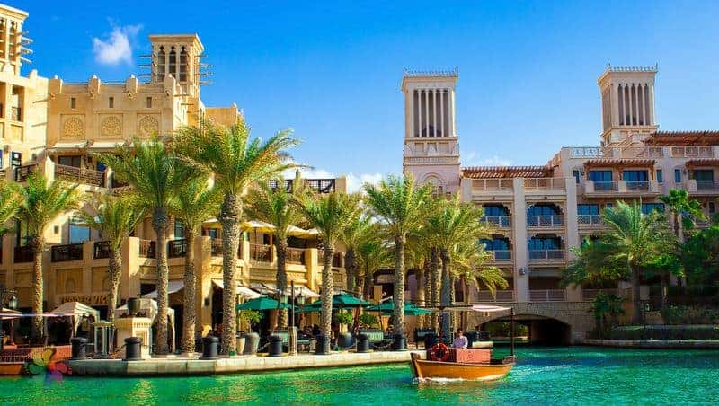 Places to see in Dubai Madinat Jumeirah