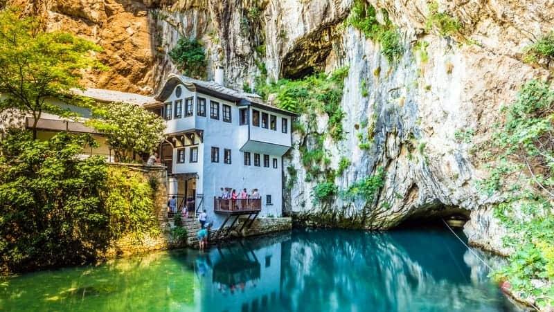 Mostar gezilecek yerler Blagay Tekkesi