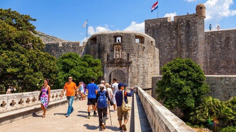 Dubrovnik gezilecek yerler Pile Kapısı