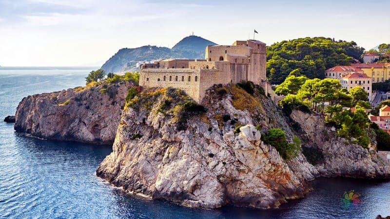 Dubrovnik gezilecek yerler Lovrijenac Hisarı
