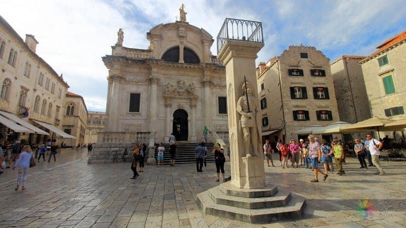 Dubrovnik gezilecek yerler Orlando Sütunu