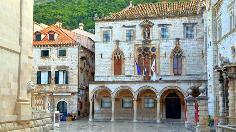 Dubrovnik gezilecek yerler Sponza Sarayı