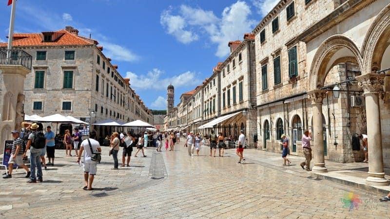 Dubrovnik gezi notları Stradun Caddesi