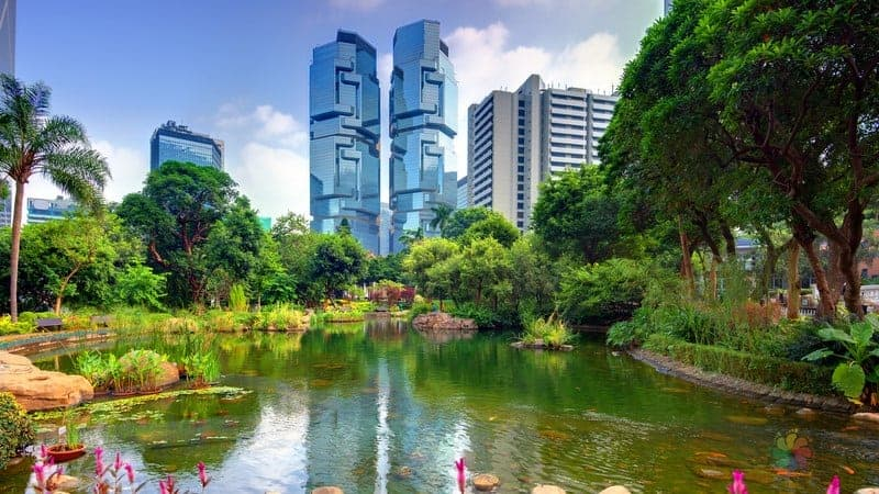 Hong Kong Park hong kong gezisi