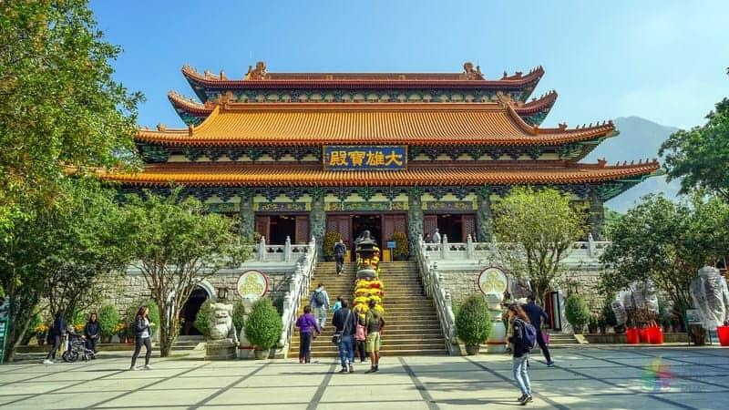 hong kong gezi rehberi Po Lin Manastırı