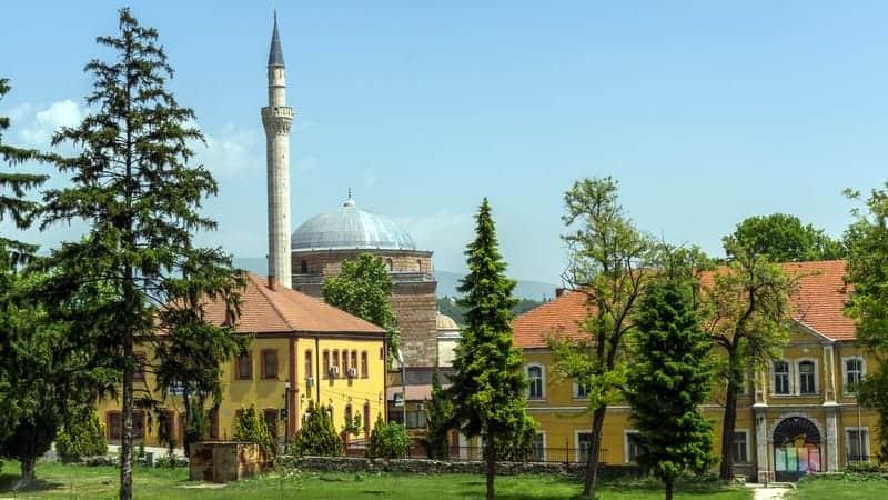 Üsküp gezilecek yerler Mustafa Paşa