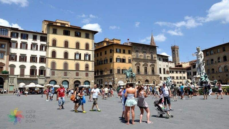 Floransa'da nerede kalınır bölgeleri floransa merkezi