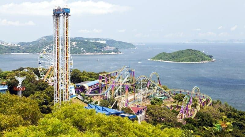 hong kong gezisi Ocean Park