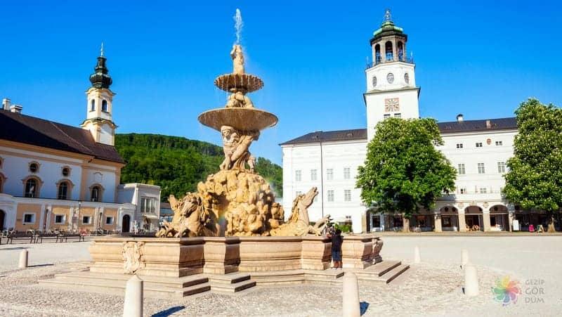 Salzburg Müzesi Salzburg'da gezilecek yerler