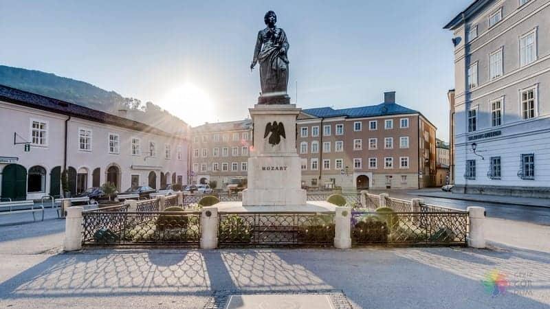 Mozartplatz Salzburg'da görülecek yerler