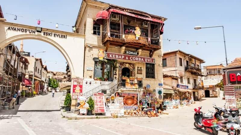 Avanos otelleri Kapadokya'da nerede kalınır