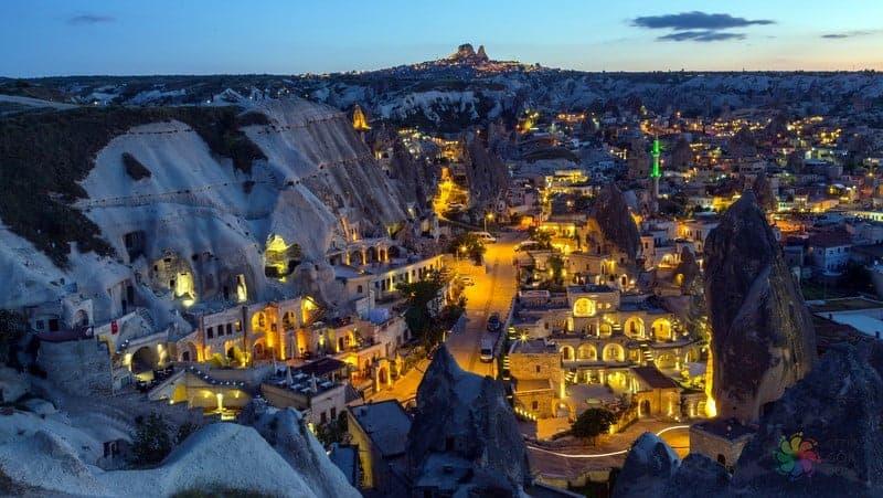 Göreme otelleri Kapadokya'da nerede kalınır