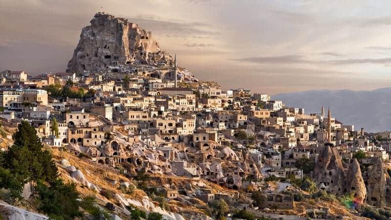 Uçhisar otelleri Kapadokya'da nerede kalınır