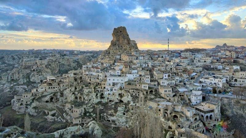 Ortahisar otelleri Kapadokya'da nerede kalınır