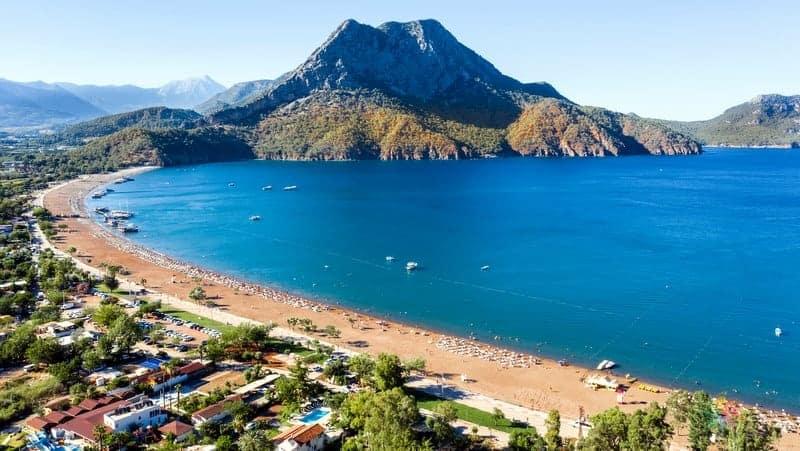 adrasan otelleri Antalya'da nerede kalınır