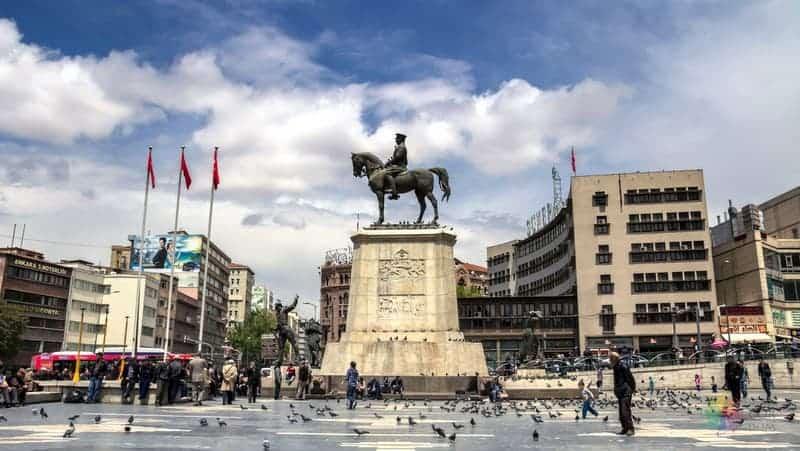 Ankara'da konaklama Ulus otelleri