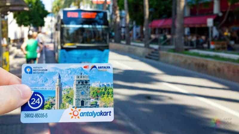 Antalya'da nerede kalınır şehir içi ulaşım araçları