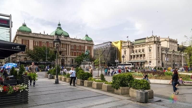 Belgrad gezilecek yerler Belgrad Cumhuriyet Meydanı