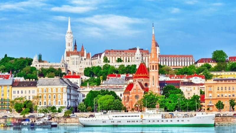 Budapeşte'de nerede kalınır Buda Kalesi ve çevresi