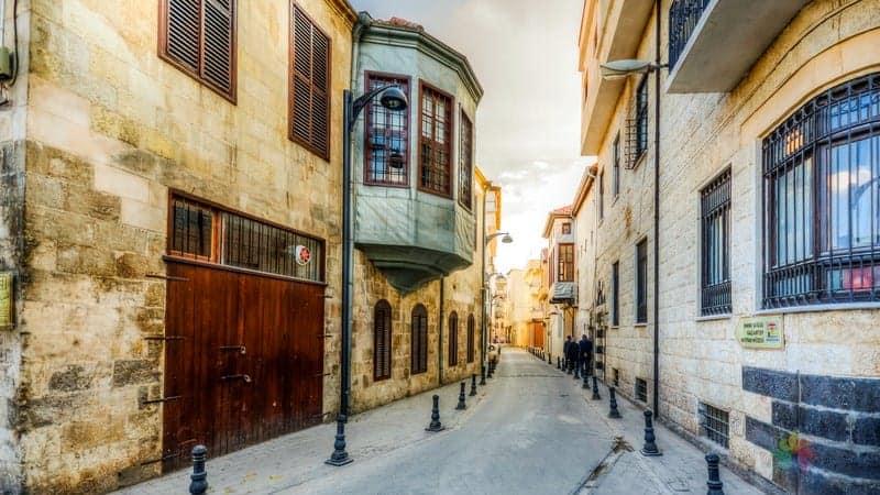Gaziantep'te konaklama Bey Mahallesi otelleri