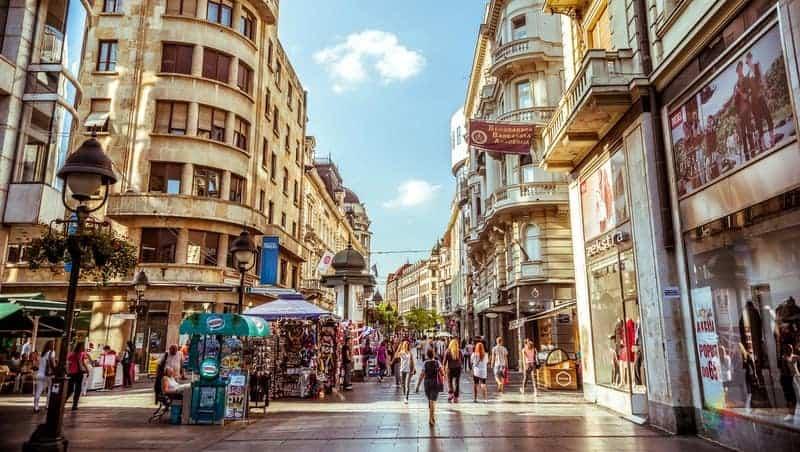 Belgrad'da görülmesi gereken yerler Knez Mihailova