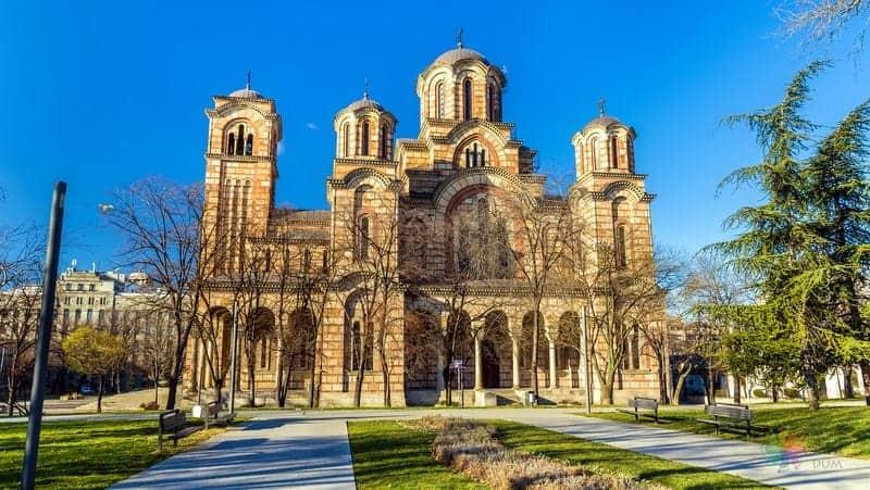 St Mark Church Belgrad'da gezilecek yerler