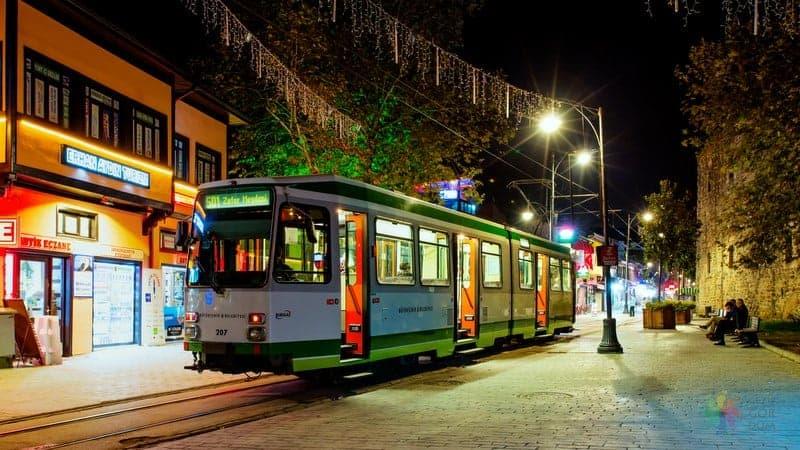 Bursa'da nerede kalınır şehir içi ulaşım rehberi