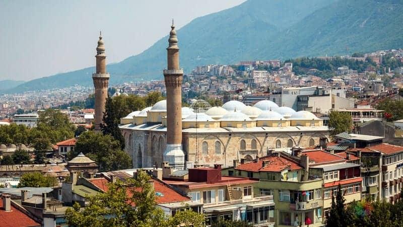 Bursa'da nerede kalınır şehir merkezi otelleri