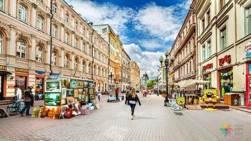 Arbat otelleri Moskova konaklama