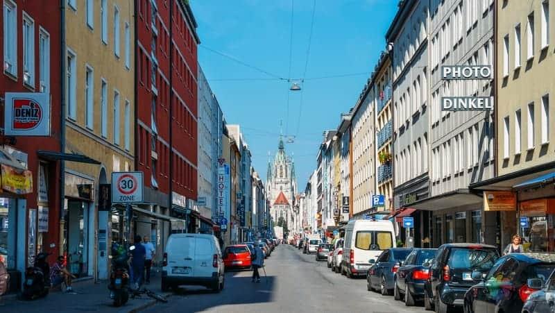 Ludwigsvorstadt Isarvorstadt Münih konaklama