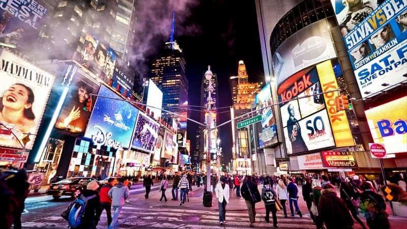 Times Square otelleri New York'ta nerede kalınır