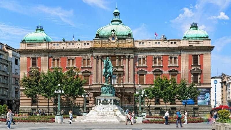 Belgrad'da gezilecek yerler sirbistan ulusal müzesi