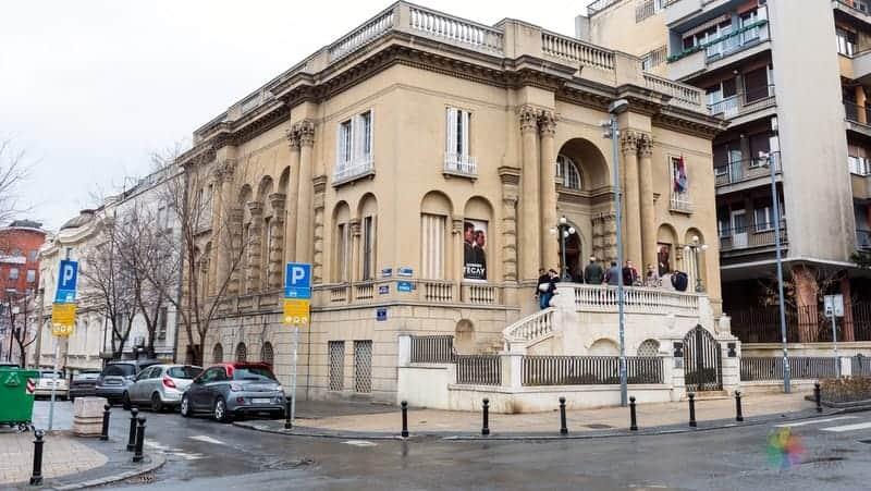 Belgrad'da nerede kalınır tesla müzesi