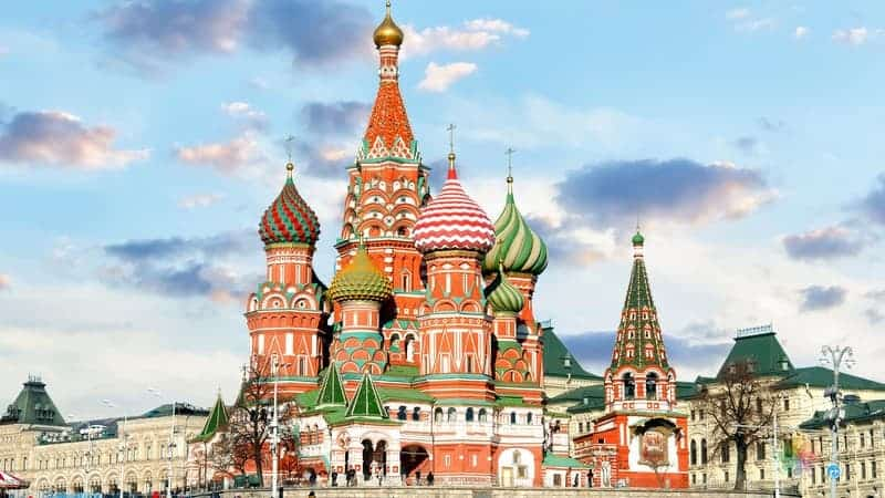 moskova gezisi Aziz Vasil Katedrali