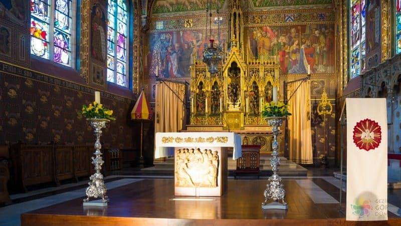 kutsan kan bazilikası brugge gezilecek yerler