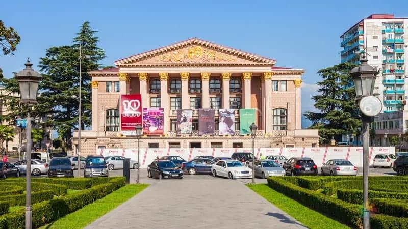 batum gezilecek yerler Batum Tiyatrosu