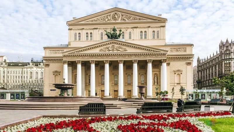 moskova gezilecek yerler Bolşoy Tiyatrosu