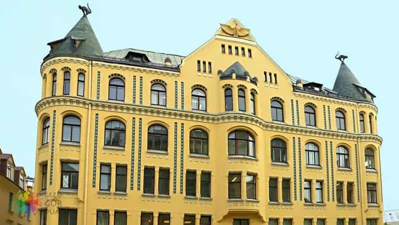 Riga gezilecek yerler Kedi Evi