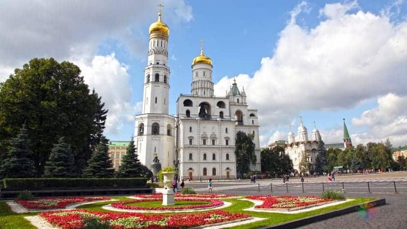 moskova gezilecek yerler Ivan the Great Bell Tower