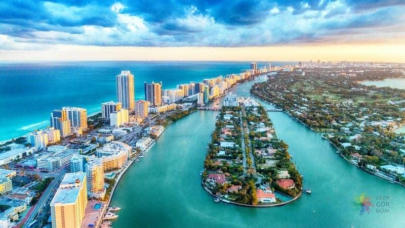 Miami'de nerede kalınır Miami Beach