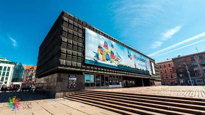 Riga görülecek yerler Letonya'nın İşgali Müzesi