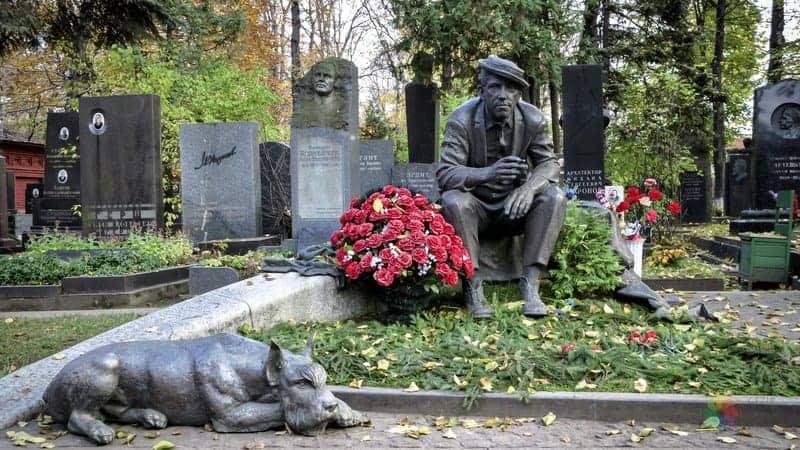 moskova gezilecek yerler Novodevichy Manastırı ve Mezarlığı
