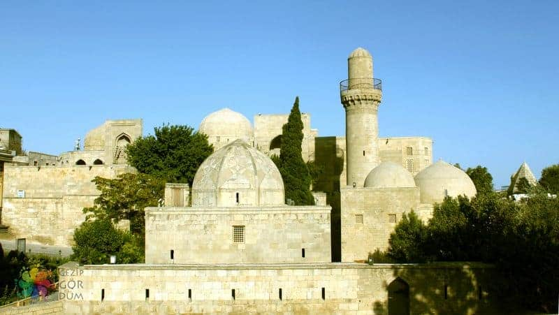 Bakü'de gezilecek yerler Şirvanşahlar Sarayı