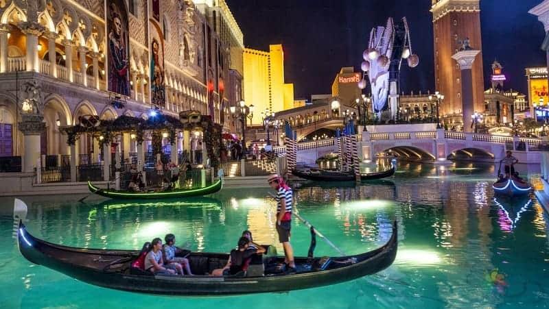 Las Vegas kumarhaneleri The Venetian hotel casino