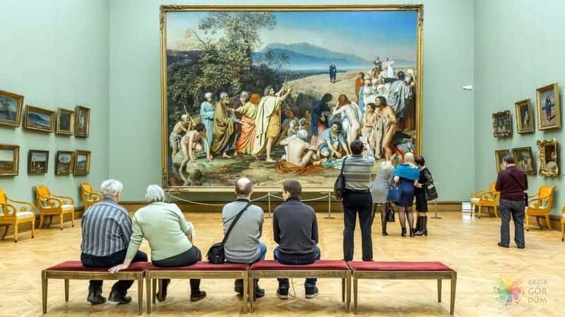 moskova gezilecek yerler Tretyakov Gallery